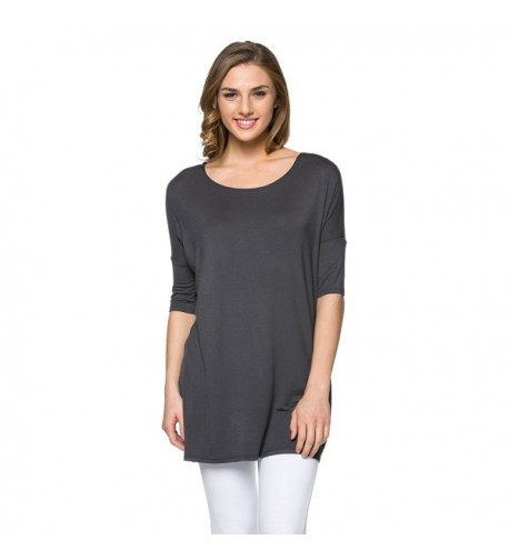 Womens Sleeve Loose Jersey Charcoal