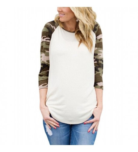 Lalagen Womens Casual Sleeves Baseball