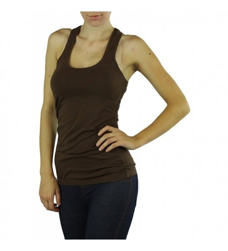 ToBeInStyle Womens Racerback Scoopneck Banded