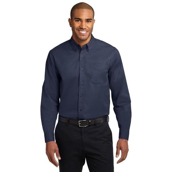Joes USA Wrinkle Resistant Shirt 3X NvyLiteStone