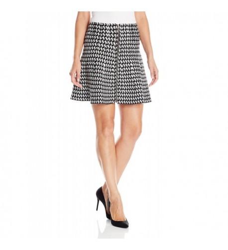 XOXO Womens Skirt Black Large