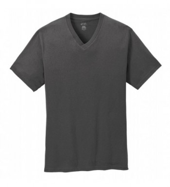 Port Company T Shirt Charcoal PC54V