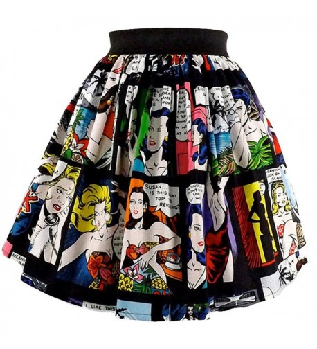 Womens Hemet Retro Comic Strip