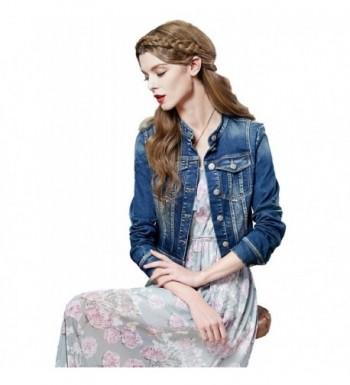 Women's Denim Jackets Outlet Online