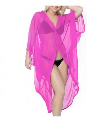Leela Blouse Bikini Chiffon Kimono
