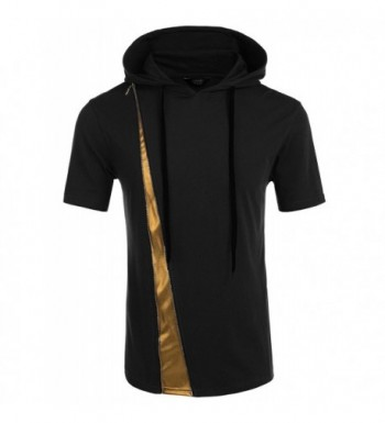 COOFANDY Hipster Pullover Hooded T Shirts