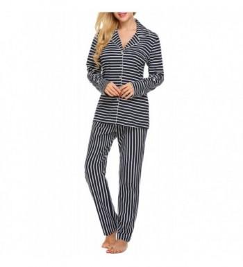 Lamore Pajama Sleepwear Striped X Large