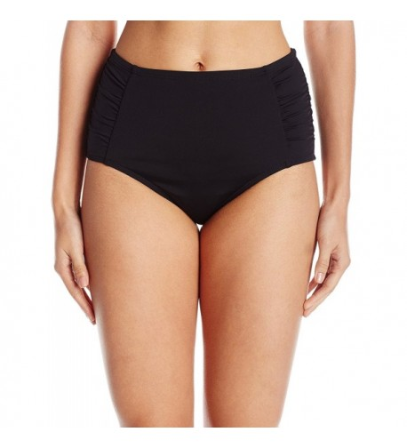 Jantzen Womens Shirred Bikini Bottom