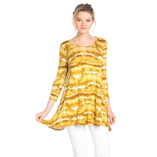 Frumos Womens Sleeve Mustard X Large