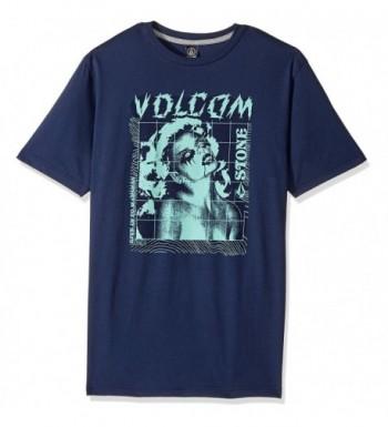 Volcom Rager Short Sleeve Indigo