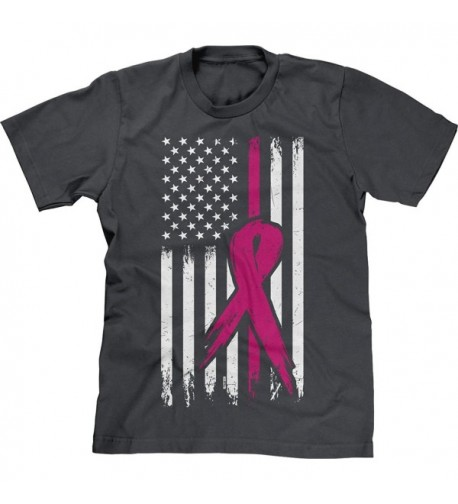 Blittzen Mens Breast Cancer Charcoal