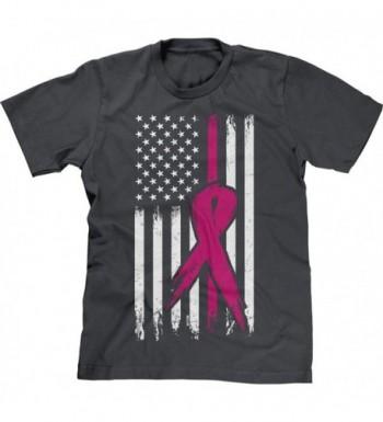 Blittzen Mens Breast Cancer Charcoal