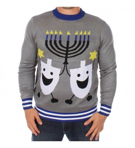 Ugly Christmas Sweater Hanukkah Tipsy