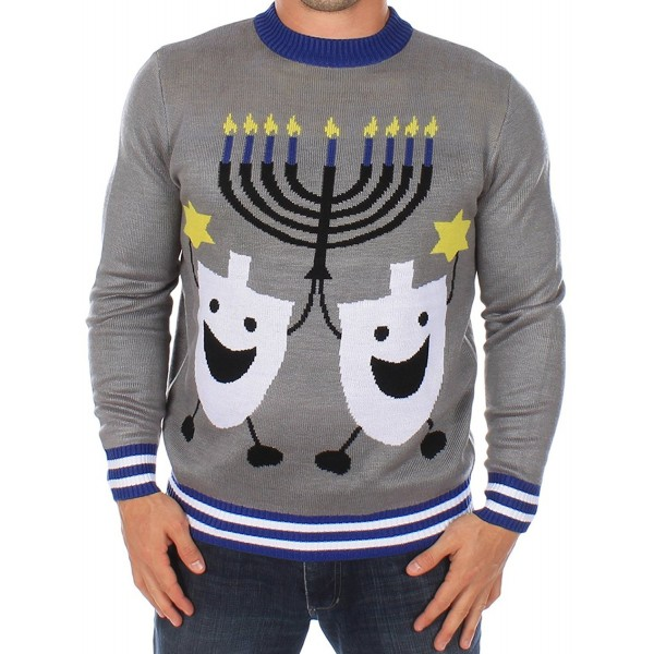 Ugly Christmas Sweater Hanukkah Tipsy