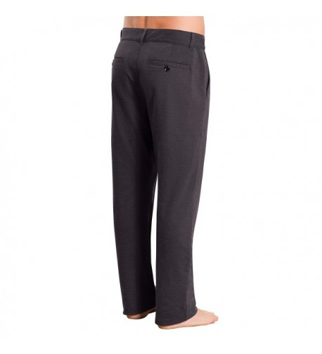 PajamaJeans Mens Dress Pants Charcoal