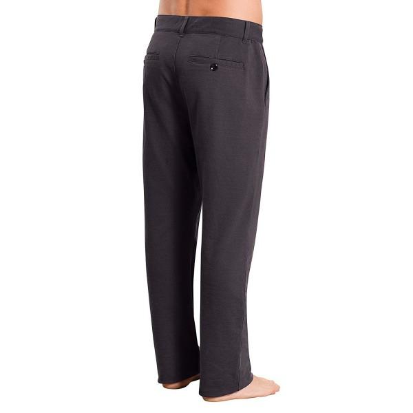 PajamaJeans Mens Dress Pants Charcoal