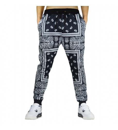 Westkun Printed Bandana Sweatpants Sportwear