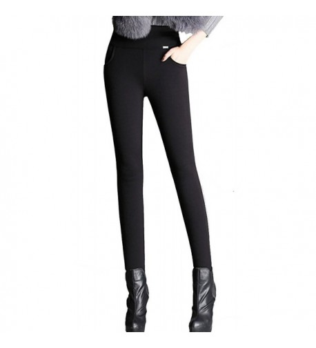 Allonly Thicken Stretch Thermal Leggings