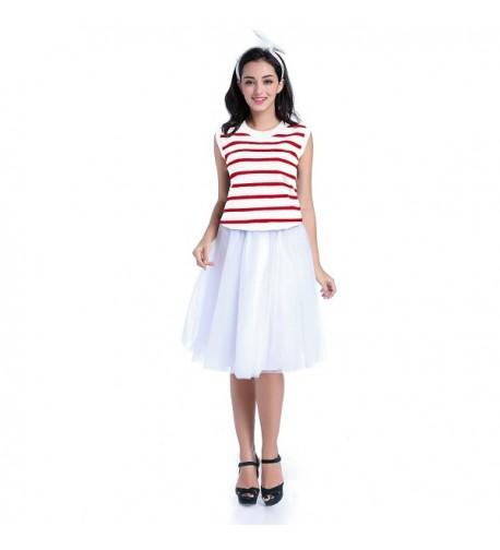 V28 Womens Sleeveless Striped Essential