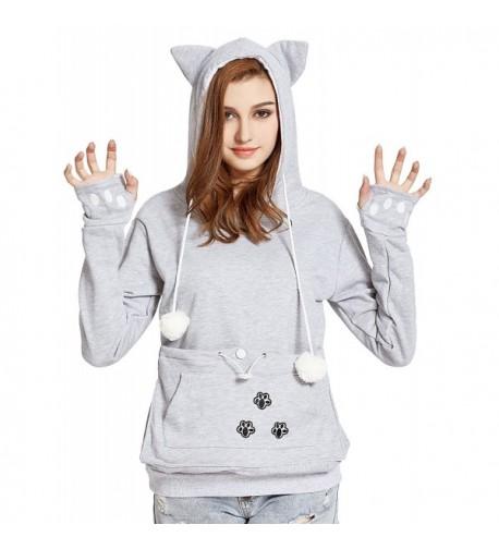 VOGRYE Kangaroo Carriers Pullover Sweatshirts