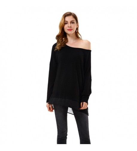 Apperloth Womens Solid Sleeve Sheer
