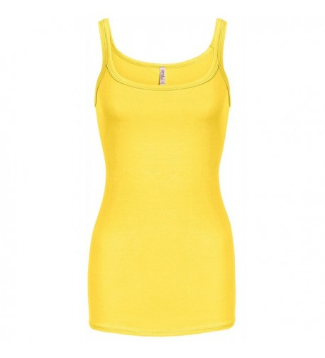 Simlu Yellow Layering Everyday Camisole