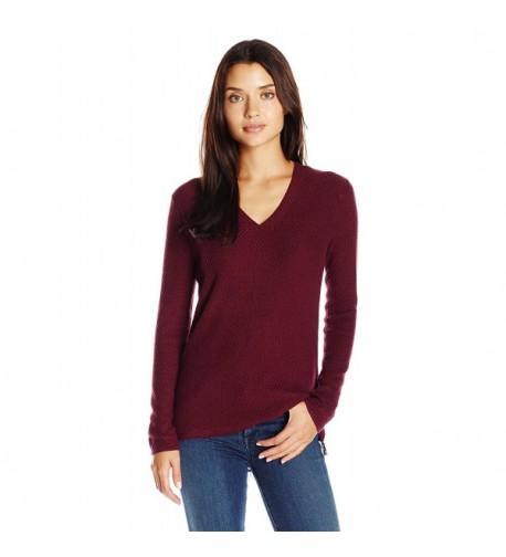 Democracy Womens Two fer Sweater Zipper