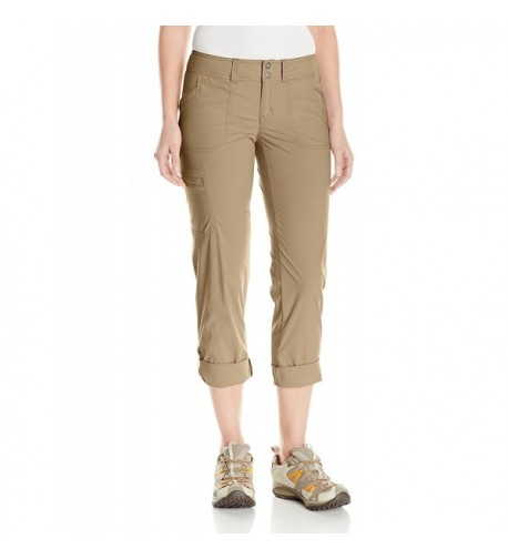 ExOfficio Womens Explorista Pants Walnut