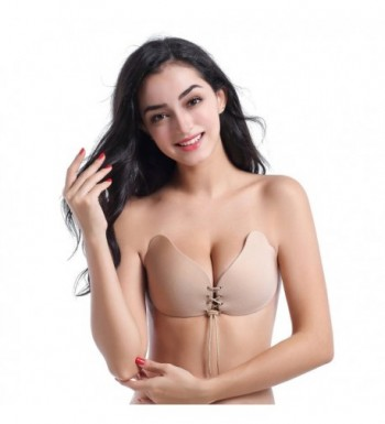 9c80af7ea1 Strapless Backless Invisible Sillcone Drawstring  Discount Women s Lingerie  Accessories ...