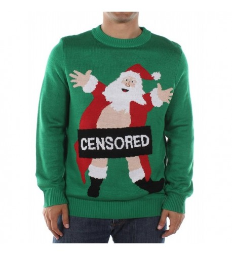 Tipsy Elves Censored Christmas Sweater