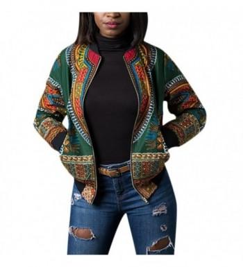 Wancy Womens African Dashiki Jackets