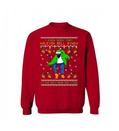 Lion Tees Sleighbell Christmas Sweatshirt