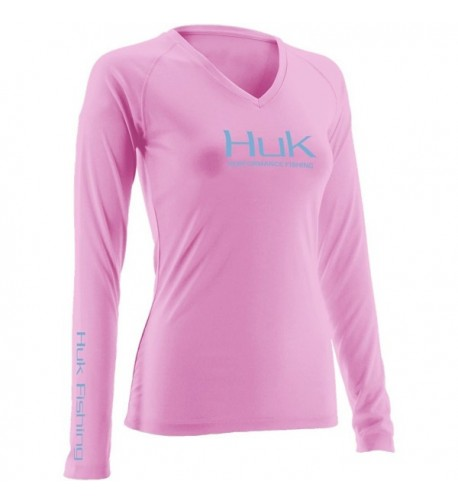 H1200060SPKM Huk Ladies Performance Sleeve