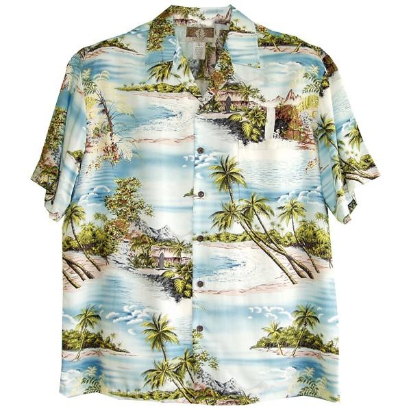 RJC Paradise Island Rayon Shirt