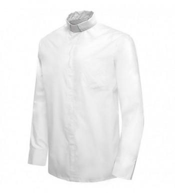 Ivyrobes Tab Collar Sleeves Clergy Necksize