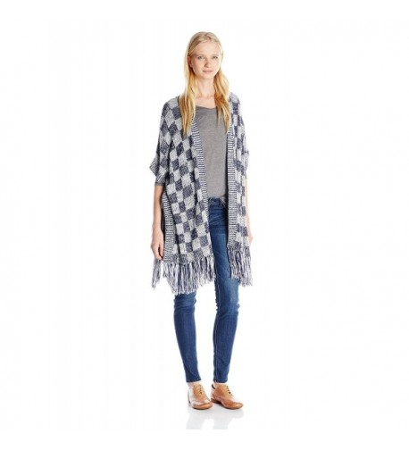 Derek Heart Juniors Pointelle Cardigan