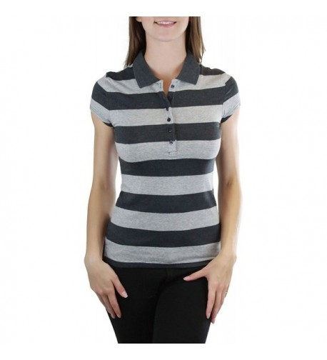 ToBeInStyle Womens Sleeve Slim Fit Striped