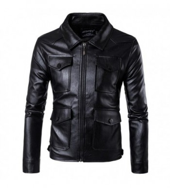 Oops Style Leather Motorcycle Pockets