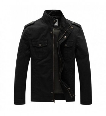 WenVen Casual Cotton Force Jacket