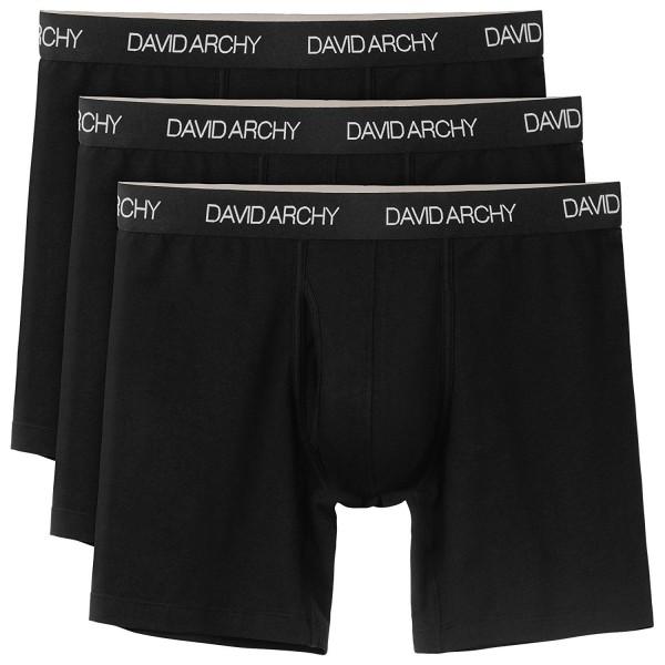 David Archy Underwar Cotton Black New
