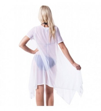 8c2410bd90 YoungLove Sheer Shirt Dress Coverup; Fashion Women's Swimsuit Cover Ups;  Cheap Designer Women's Cover ...