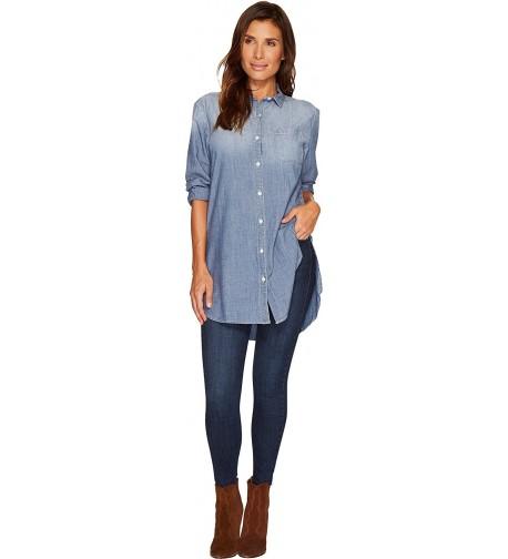 Jag Jeans Womens Magnolia Chambray