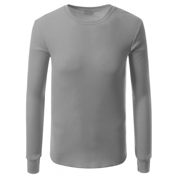 JD Apparel Hipster Crewneck Thermal