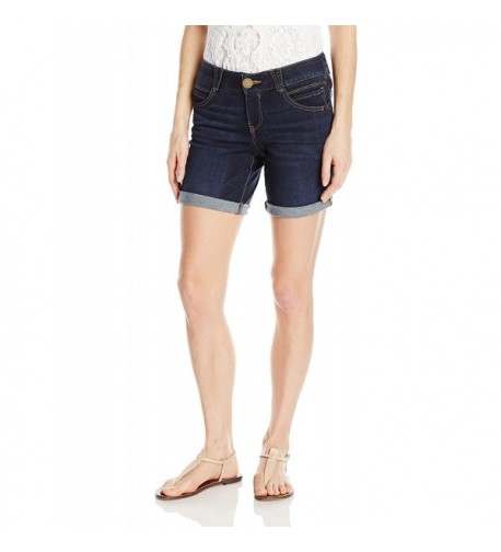 Democracy Womens Solution Short Indigo