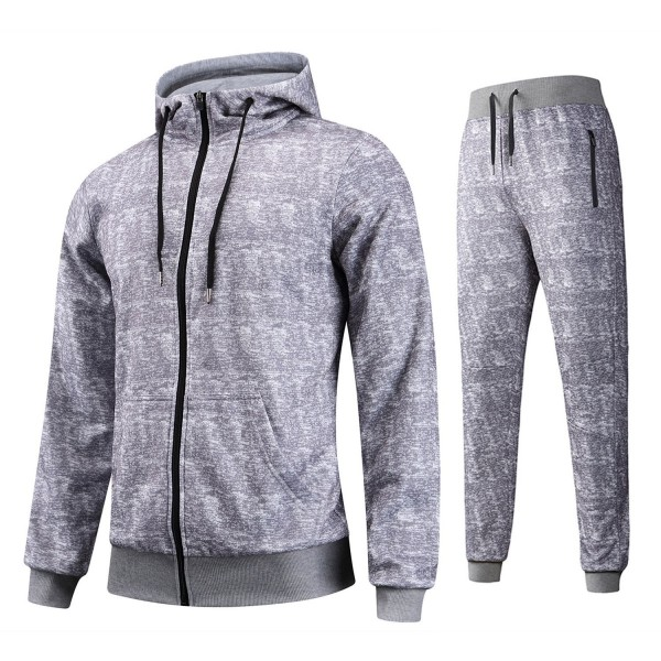 Hoodie Tracksuit Contrast Jogging Joggers