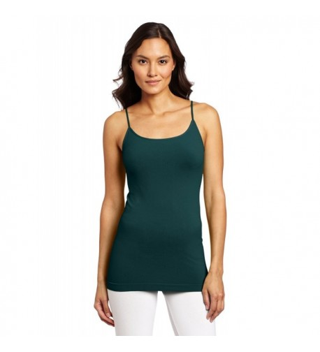 Skinny Tees Womens Cami Forest