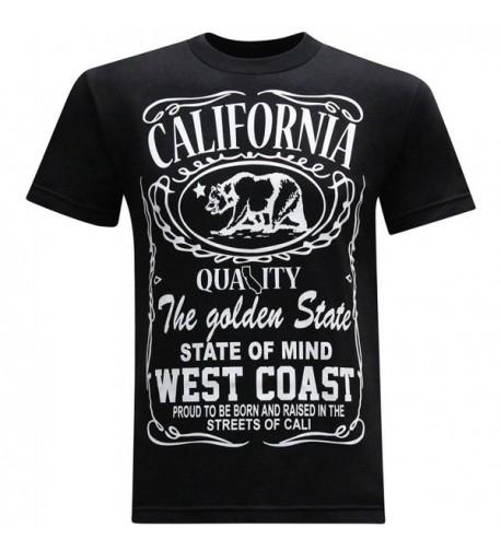 California Republic Coast T Shirt Medium