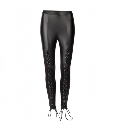 Pretty Attitude Leather Skinnies Leggings