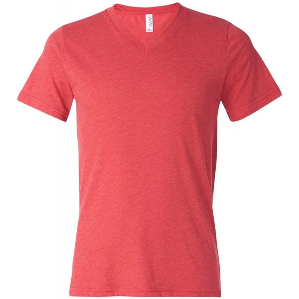 Bella Unisex Triblend Sleeve V Neck