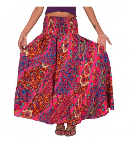 Skirts Scarves Womens Printed Crepe